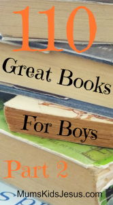 More favourites from my 3 boys, and the boys in my library classes. This selection is from age 10 to teen. Links to Part 1: ages 3 to 10. Lots that girls will enjoy too!