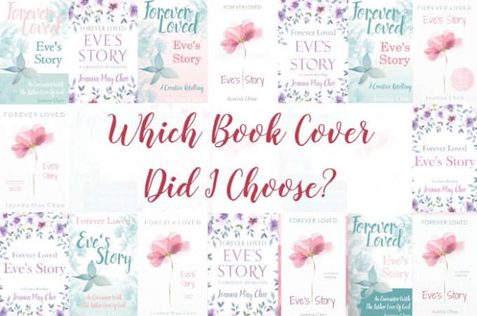 Exciting day! I have a book cover for my new book 'Forever Loved: Eve's Story'. Click the pin to see which cover I chose, the story behind it (and a few covers that didn't make it).