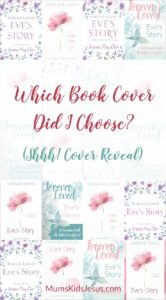 Exciting day! I have a book cover for my new book 'Forever Loved: Eve's Story'. Click the pin to reveal all (and to see a few of the covers that didn't make it!)