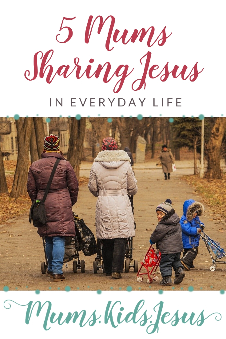 Stories of mums sharing Jesus with others in everyday life.