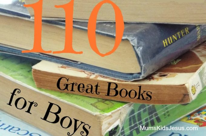 110 Great Books for Boys: Part 2